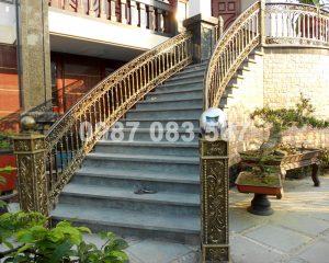 Cầu Thang Nhôm Đúc M001