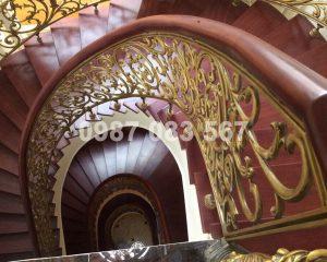 Cầu Thang Nhôm Đúc M013
