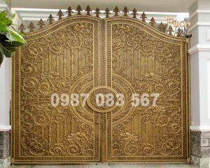 Cổng Nhôm Đúc M001