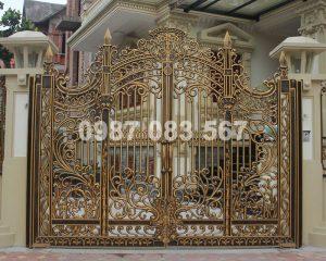 Cổng Hợp Kim Nhôm Đúc M002