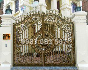 Cổng Nhôm Đúc M003