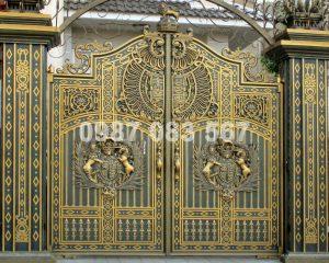 Cổng Nhôm Đúc M004