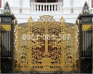 Cổng Nhôm Đúc M006