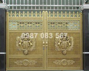 Cổng Nhôm Đúc M008