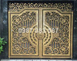 Cổng Nhôm Đúc M013