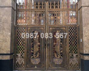 Cổng Nhôm Đúc M014