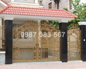 Cổng Nhôm Đúc M019