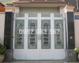 Cổng Nhôm Đúc M023