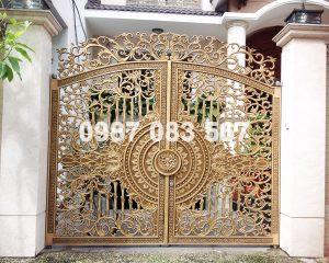 Cổng Nhôm Đúc M026