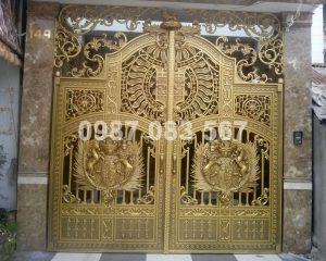 Cổng Nhôm Đúc M030