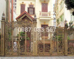 Cổng Nhôm Đúc M033