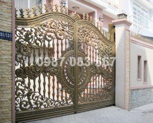 Cổng Nhôm Đúc M034