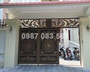 Cổng Nhôm Đúc M041