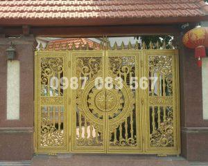 Cổng Nhôm Đúc M047