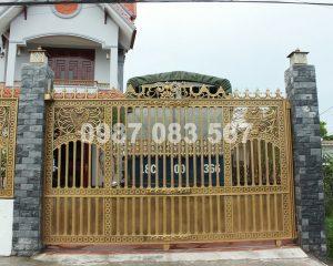 Cổng Nhôm Đúc M049