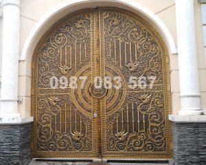 Cổng Nhôm Đúc M051