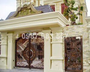 Cổng Nhôm Đúc M059