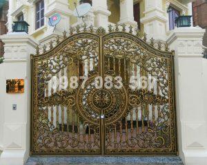 Cổng Nhôm Đúc M079