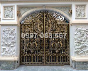 Cổng Nhôm Đúc M080