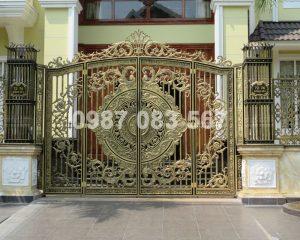 Cổng Nhôm Đúc M085