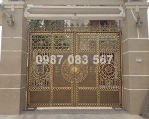 Cổng Nhôm Đúc M090