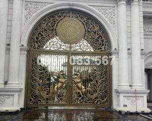 Cổng Nhôm Đúc M091