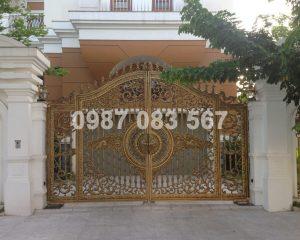 Cổng Nhôm Đúc M092