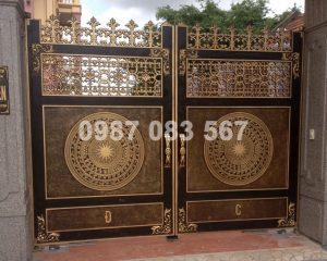 Cổng Nhôm Đúc M097