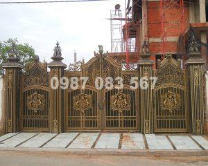 Cổng Nhôm Đúc M098