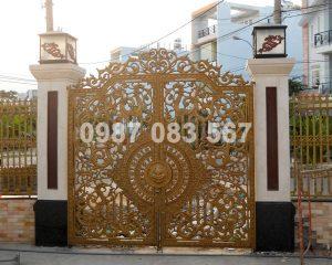 Cổng Nhôm Đúc M100