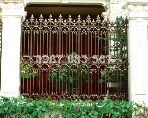 Hàng Rào Nhôm Đúc M001