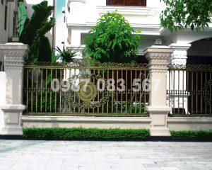 Hàng Rào Nhôm Đúc M002