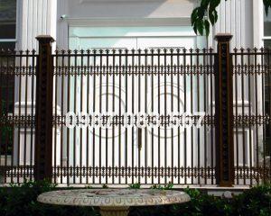Hàng Rào Nhôm Đúc M003