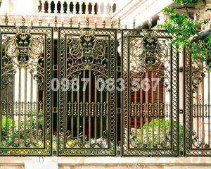 Hàng Rào Nhôm Đúc M004