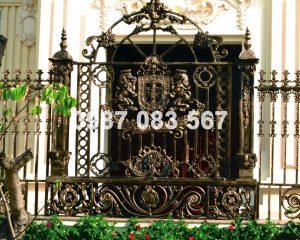 Hàng Rào Nhôm Đúc M005
