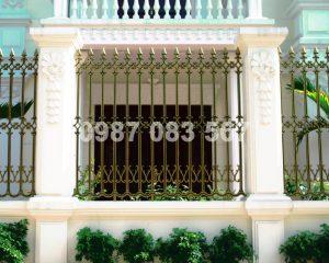 Hàng Rào Nhôm Đúc M006
