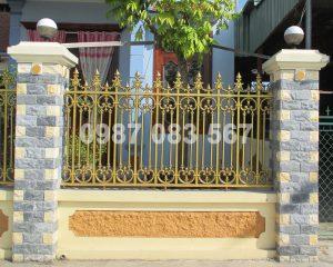 Hàng Rào Nhôm Đúc M007