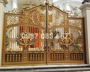 Cổng Nhôm Đúc M110