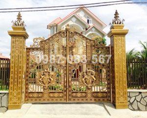 Cổng Nhôm Đúc M114