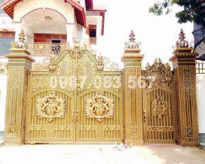Cổng Nhôm Đúc M115
