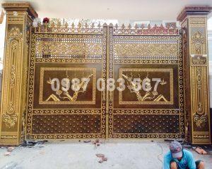 Cổng Nhôm Đúc M120