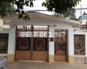 Cổng Nhôm Đúc M121