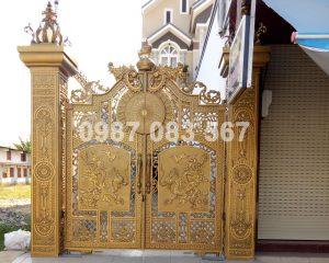 Cổng Nhôm Đúc M125