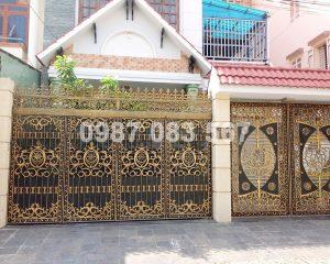 Cổng Nhôm Đúc M156