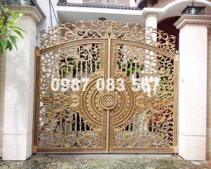 Cổng Nhôm Đúc M158