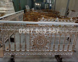 Hàng Rào Nhôm Đúc M009