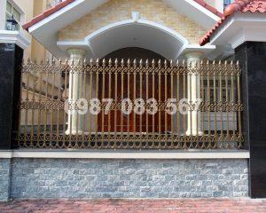 Hàng Rào Nhôm Đúc M010
