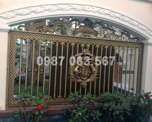 Hàng Rào Nhôm Đúc M012