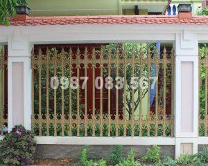 Hàng Rào Nhôm Đúc M019