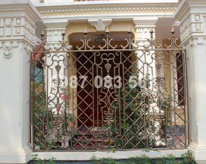 Hàng Rào Nhôm Đúc M020